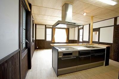 対面式キッチンです